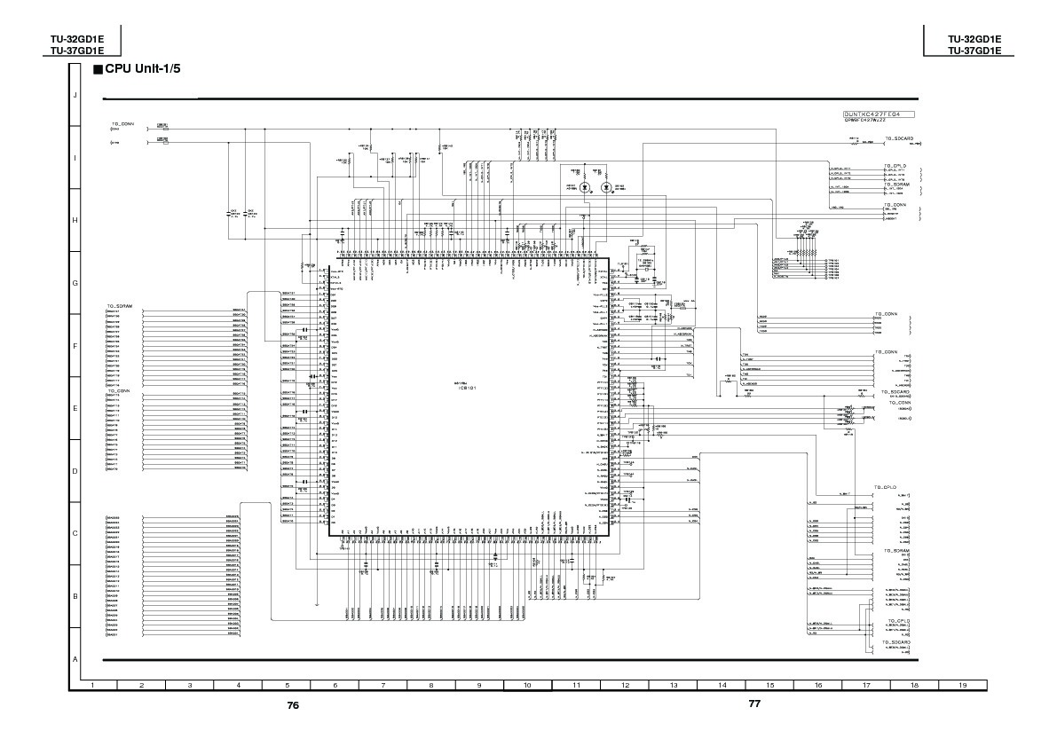 Sharp Tu 37gd1e Servman17 Service Manual View Online Or Cpu Circuit Diagram