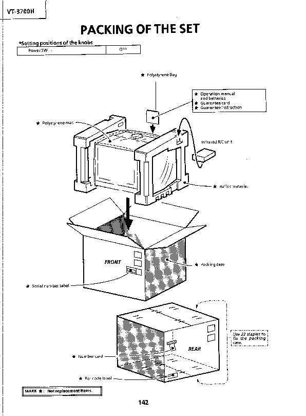 Sharp Vt 3700h Serv Man13 Service Manual