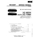 Sharp VC-108 (serv.man2) Service Manual
