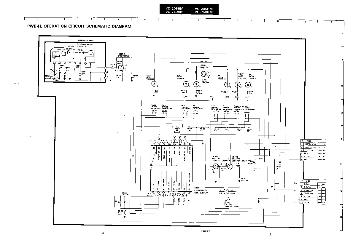 Sharp vcr service manuals and schematics repair information for sharp vc 205hm servn2 service manual pooptronica Gallery