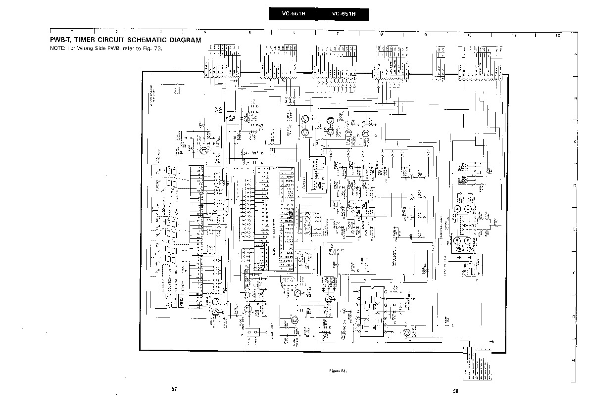 Sharp vcr service manuals and schematics repair information for sharp vc 651h servn5 service manual pooptronica Gallery