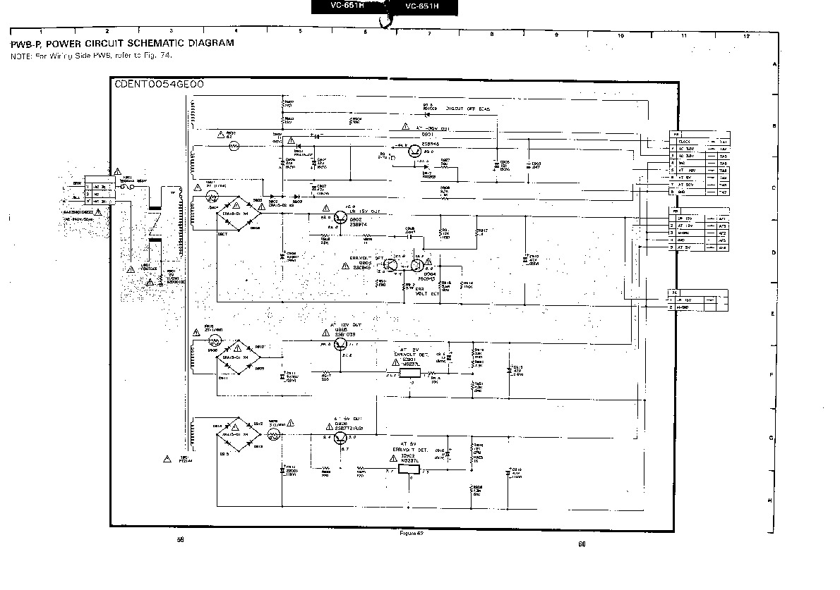 Sharp vcr service manuals and schematics repair information for sharp vc 651h servn6 service manual pooptronica Gallery