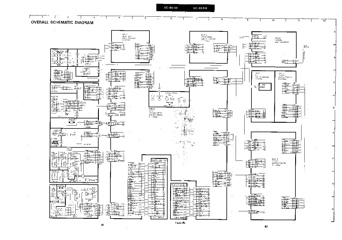 Sharp vcr service manuals and schematics repair information for sharp vc 651h servn7 service manual pooptronica Gallery