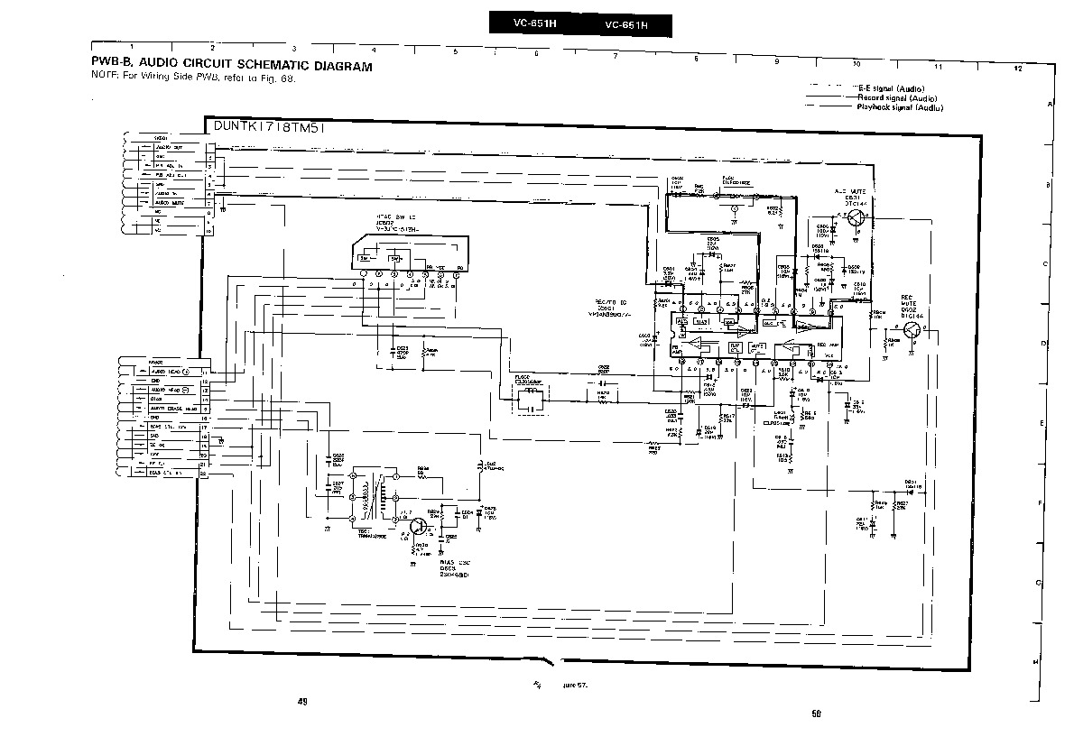 Sharp vcr service manuals and schematics repair information for sharp vc 651h servn9 service manual pooptronica Gallery