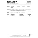 Sharp VC-A140HM (serv.man16) Technical Bulletin
