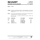 Sharp VC-A140HM (serv.man19) Technical Bulletin