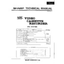 Sharp VC-A215HM Service Manual