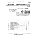 Sharp VC-H86HM (serv.man10) Service Manual