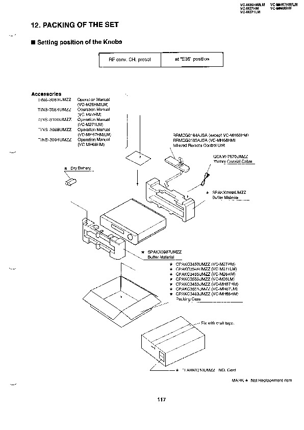 Sharp Vc M271hm Servn18 Parts Guide View Online Or Download