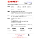 Sharp VC-M311HM (serv.man10) Technical Bulletin