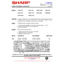 Sharp VC-M311HM (serv.man11) Technical Bulletin