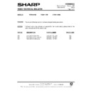 Sharp VC-M311HM (serv.man15) Technical Bulletin