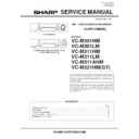 Sharp VC-M311HM (serv.man2) Service Manual