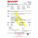 Sharp VC-M311HM (serv.man9) Technical Bulletin