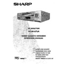 Sharp VC-MH67HM (serv.man23) User Guide / Operation Manual