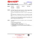 Sharp VC-MH69HM (serv.man16) Technical Bulletin