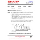 Sharp VC-MH69HM (serv.man19) Technical Bulletin