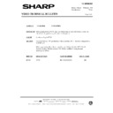Sharp VC-MH69HM (serv.man24) Technical Bulletin