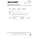 Sharp VC-MH69HM (serv.man26) Technical Bulletin