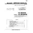 Sharp VC-MH69HM (serv.man7) Service Manual