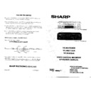 Sharp VC-MH703 (serv.man2) User Guide / Operation Manual