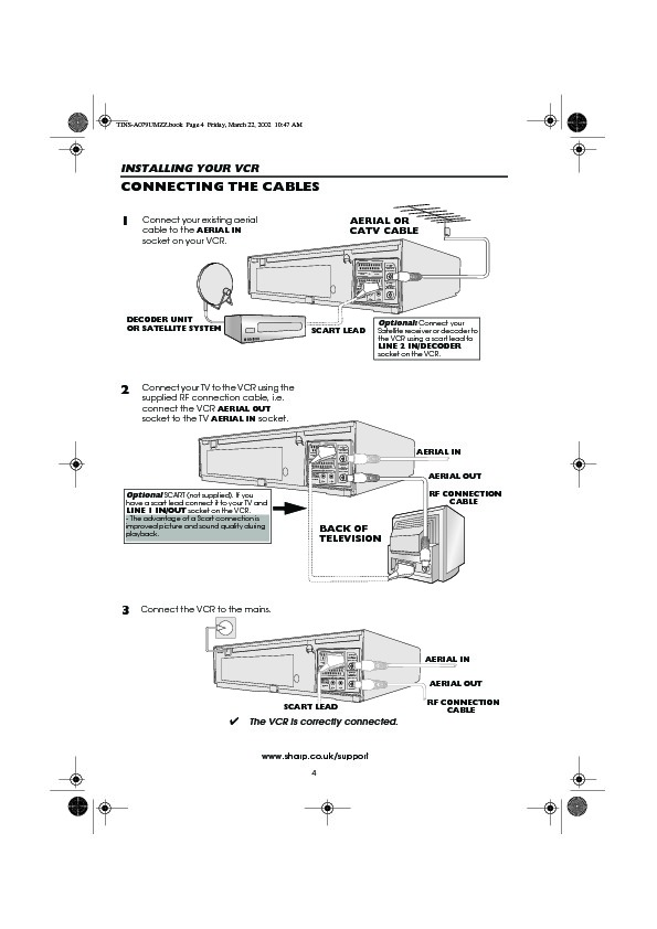 Vcr Schematics User Guide Online User Manual