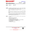 Sharp VC-MH721HM (serv.man13) Technical Bulletin