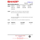 Sharp VC-MH721HM (serv.man14) Technical Bulletin