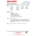 Sharp VC-MH721HM (serv.man15) Technical Bulletin