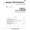 Sharp VC-MH722HM (serv.man3) Service Manual