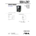 awp-zx7, ssx-lzx7 service manual