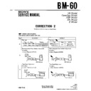 Sony BM-60 (serv.man3) Service Manual