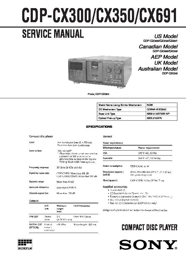 cx300 manual