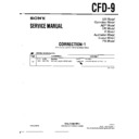 Sony CFD-9 (serv.man2) Service Manual