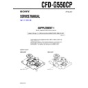 CFD-G550CP (serv.man2) Service Manual