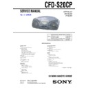 CFD-S20CP (serv.man4) Service Manual