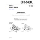 CFD-S400L (serv.man2) Service Manual