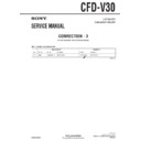 Sony CFD-V30 (serv.man10) Service Manual