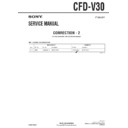 Sony CFD-V30 (serv.man12) Service Manual