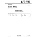 Sony CFD-V30 (serv.man15) Service Manual