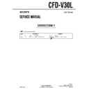 Sony CFD-V30L (serv.man4) Service Manual