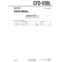 Sony CFD-V30L (serv.man5) Service Manual