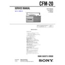 cfm-20 (serv.man2) service manual