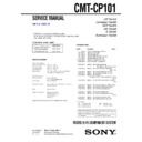 Sony CMT-CP101 Service Manual