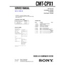 cmt-cpx1 (serv.man2) service manual
