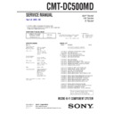 cmt-dc500md service manual