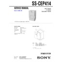 cmt-ep414, ss-cep414 service manual