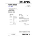 CMT-EP414 Service Manual