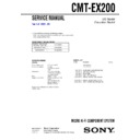 CMT-EX200 Service Manual
