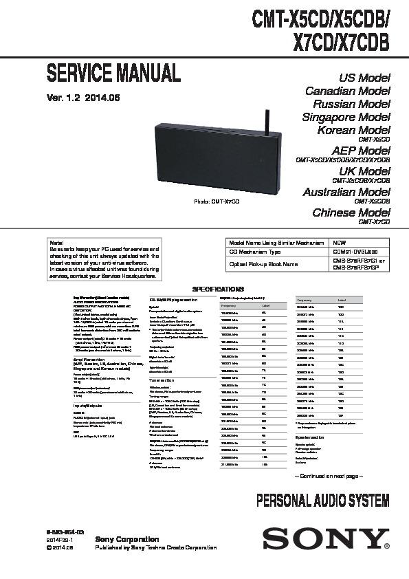 Remote Control RM-AMU197 for Sony CMT-X5CDB CMT-X7CD CMT-X5CD CMT-X7CDB